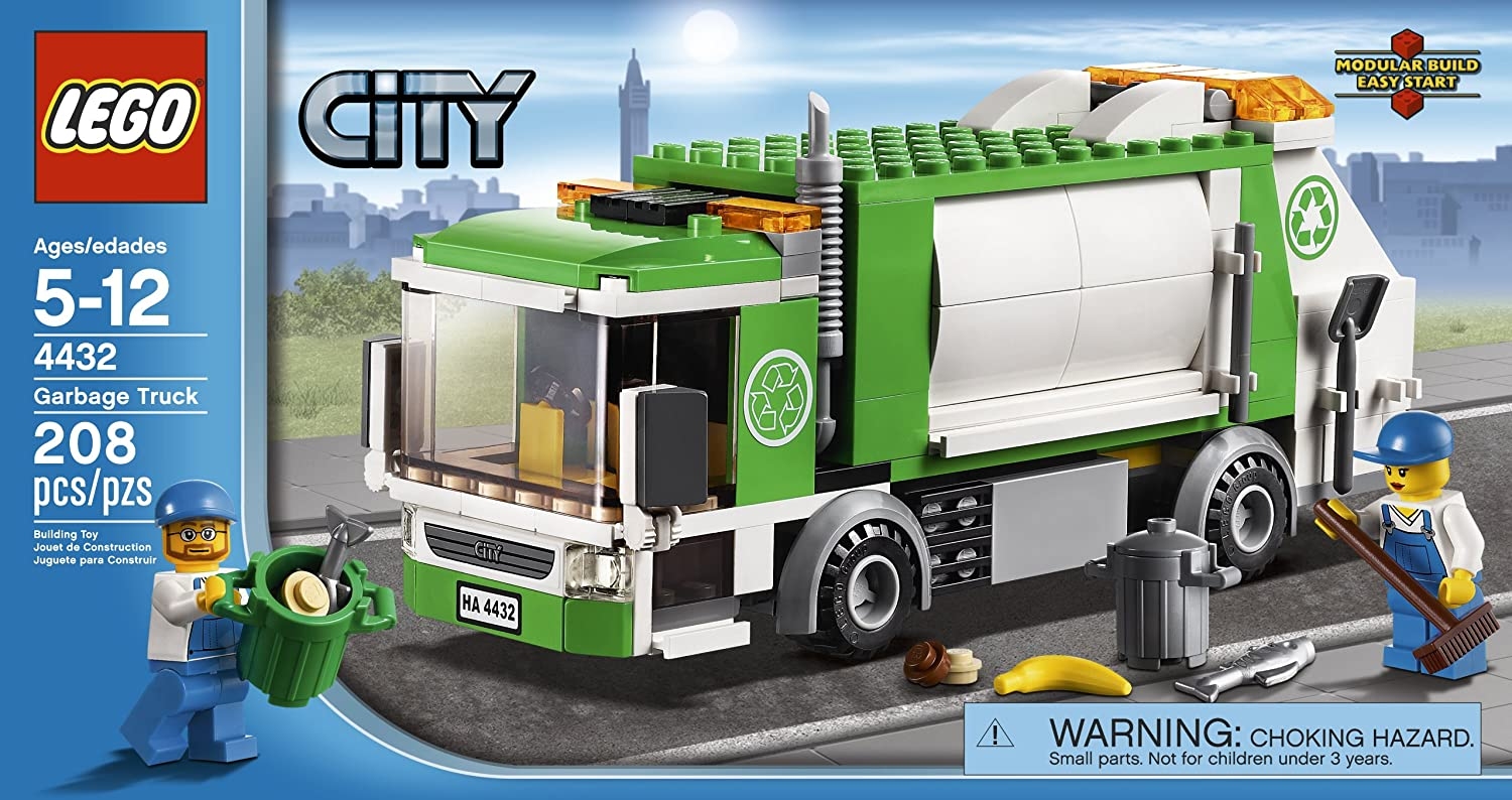 Beautiful LEGO City Town Garbage Truck, Figures - Amazon Canada EG95