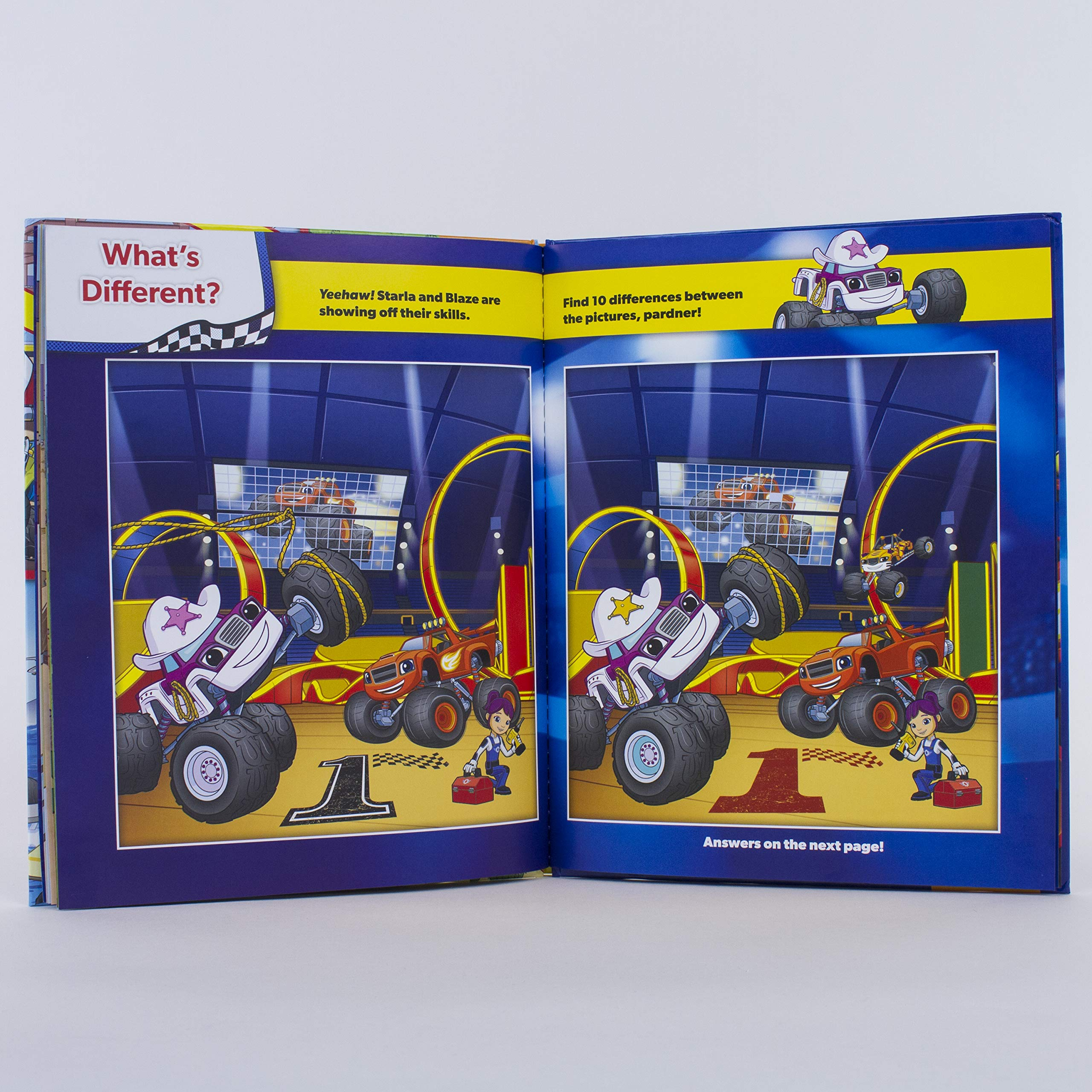 Nickelodeon Blaze And The Monster Machine Look And Find Drive And Find Pi Kids Editors Of Phoenix International Publications Amazon De Bucher