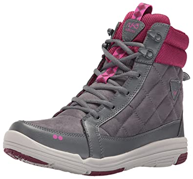 RYKA Women's Aurora Fashion Sneaker, Grey/Wine/Pink, ...