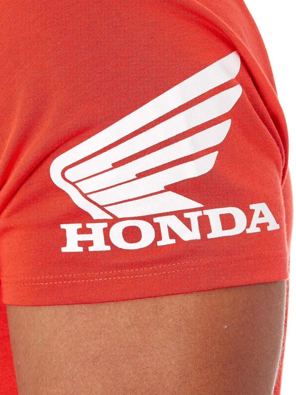 Premium Fox-Honda, FLAME RED Pit HRC Tech SS Polo