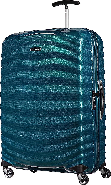 Samsonite Lite-Shock - Spinner L Maleta, 75 cm, 98.5 L, Azul (Petrol Blue)