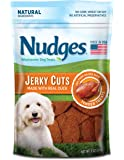 Nudges Premium Jerky Cuts Dog Treats, Roasted Duck, 3 Ounce