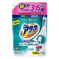 【大容量】ウルトラアタックNeo 洗濯洗剤 濃縮液体 詰替用 1300g