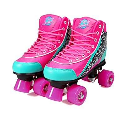 Kandy-Luscious Kid's Roller Skates - Comfortable Outdoor Children's Skates with Fun Colors & Designs : Sports & Outdoors