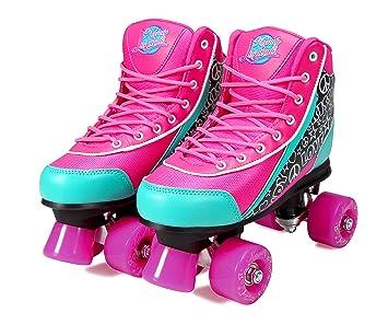 Kandy-Luscious Skates Patines con ruedas, color rosa y turquesa: Amazon.es: Deportes y aire libre