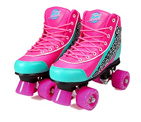 Kandy-Luscious Kid s Roller Skates – Comfortable Children s Skates with Fun Colors Designs