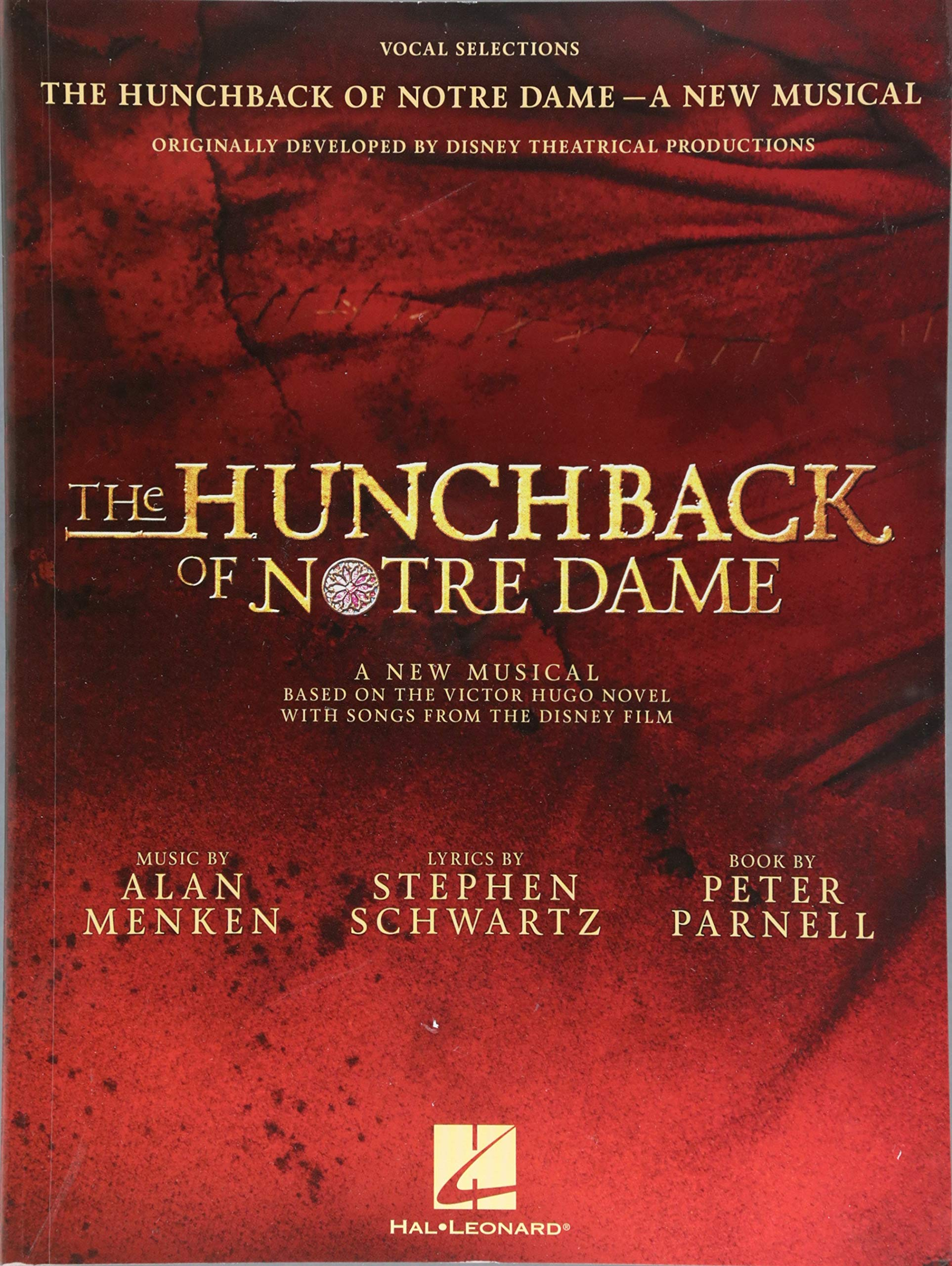 The Hunchback Of Notre Dame  The Stage Musical  Vocal Selections   Songbook Für Gesang