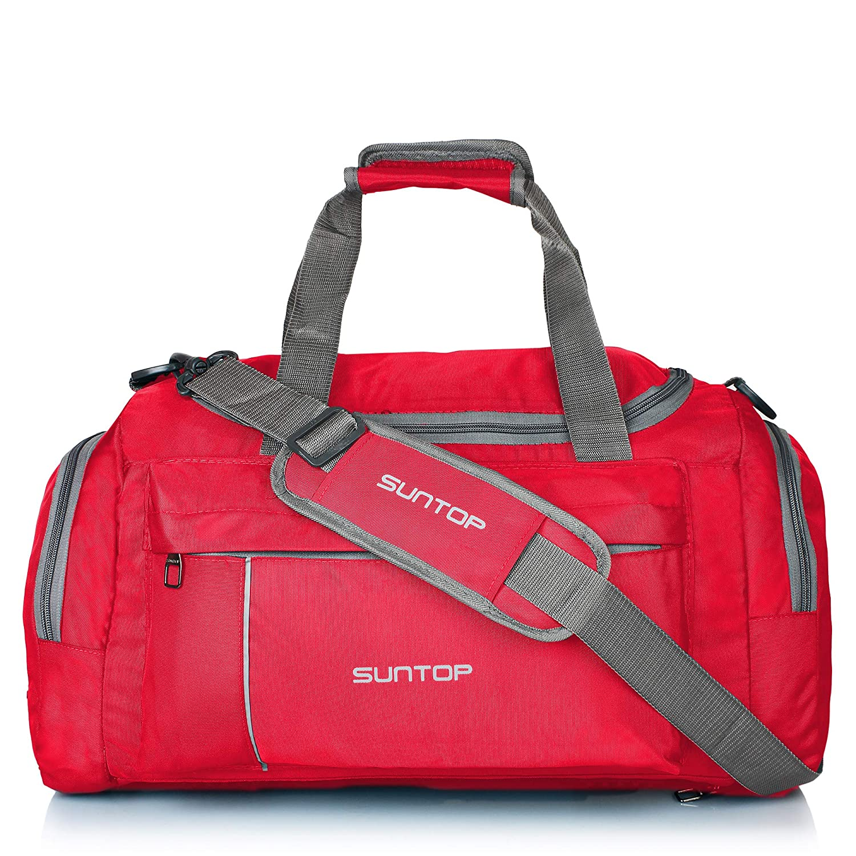 28d7dd3b99 Suntop Nylon 40 Ltr Chilli Red Travel Duffles  Amazon.in  Bags ...