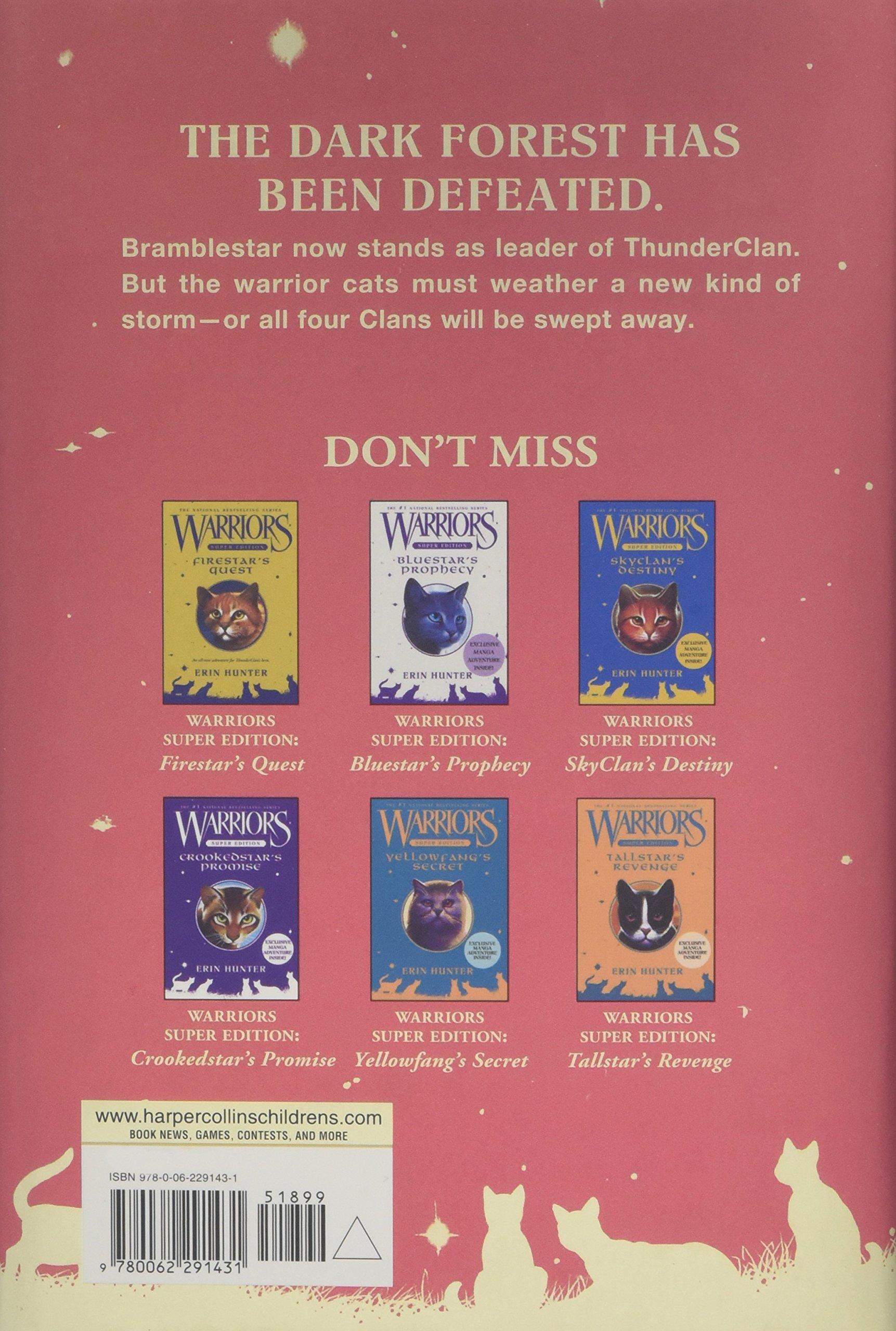 Warriors Super Edition: Bramblestar's Storm: Amazon: Erin Hunter:  9780062291431: Books
