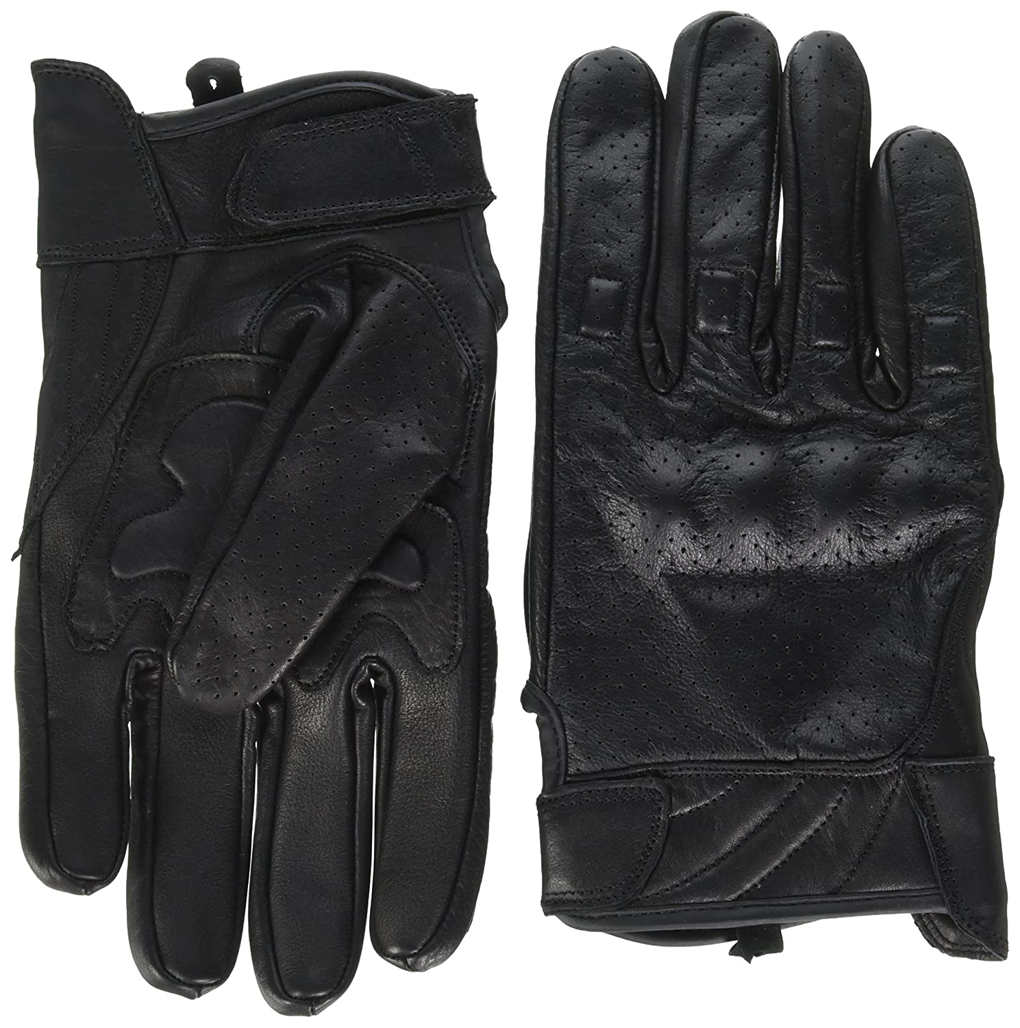 Mens leather gloves black friday - Amazon Com Milwaukee Leather Men S Premium Leather Perforated Cruiser Gloves Mg7500 L Milwaukee Leather Automotive