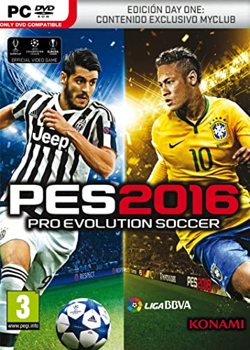 Pro Evolution Soccer 2016 (PES 2016) - Day One Edition: Amazon.es ...
