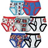 Marvel Little Boys' Spiderman Seven-Pack of Briefs