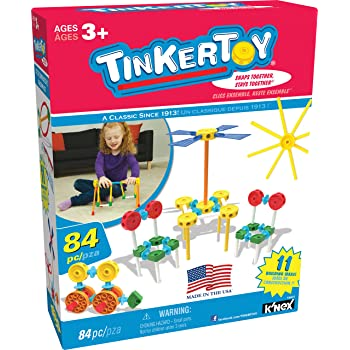 Tinkertoy ‒ 100 Piece Essentials Value Set ‒  As 3 Preschool Education Toy