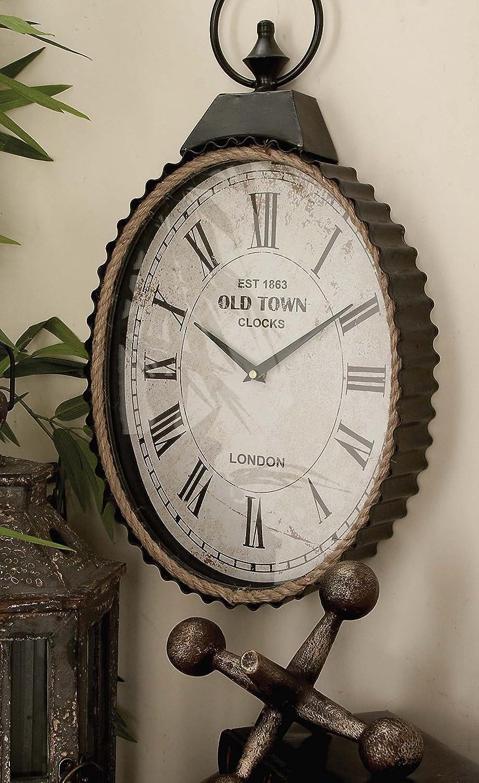 Deco 12 12 Metal Rope Wall Clock, 12