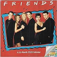 Friends Calendar 2020 Bundle - 2020 Friends TV Show Wall Calendar with Over 100 Calendar Stickers