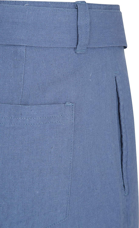 Summer Pants Mountain Warehouse Ocean Linen Blend Womens Shorts