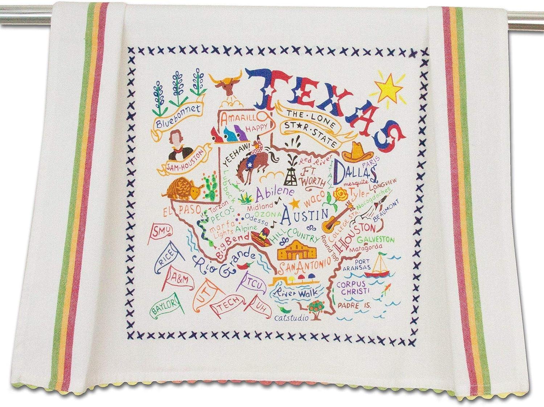 catstudio Texas Dish & Hand Towel | Great for Kitchen, Bar, & Bathroom