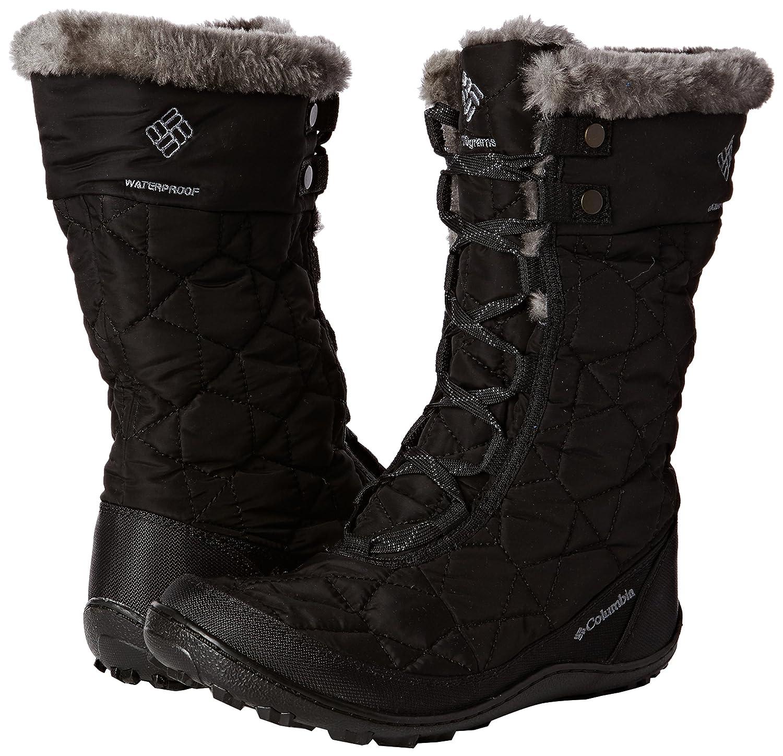 Columbia Women's Minx Mid II Omni-Heat Winter Boot B00GW8GHUQ 6.5 B(M) US Black, Charcoal