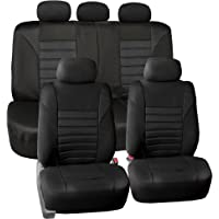 $25 » FH Group FB068BLACK115 Black Universal Car Seat Cover (Premium 3D Air mesh Design Airbag…