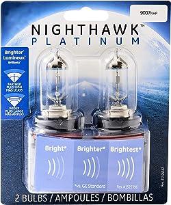 GE Lighting 9007NHP/BP2 Nighthawk Platinum Headlight Bulbs, 2-Pack
