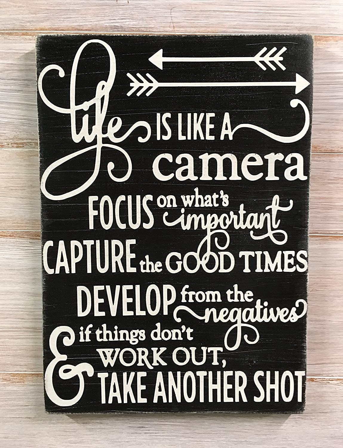 Amazon.com: Life Is Like A Camera   Life Is Good   Life Quotes