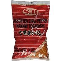 S&B 7 Pepper mezcla de especias (Nanami / Schichimi Togarashi) - 1 Bolsa, 10,58 Oz