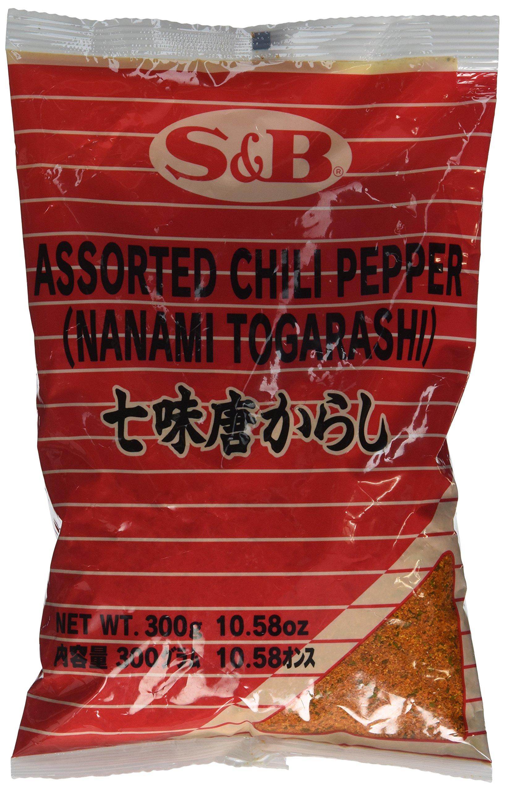 7 Pepper Spice Mix (Nanami / Schichimi Togarashi) - 1 bag, 10.58 oz