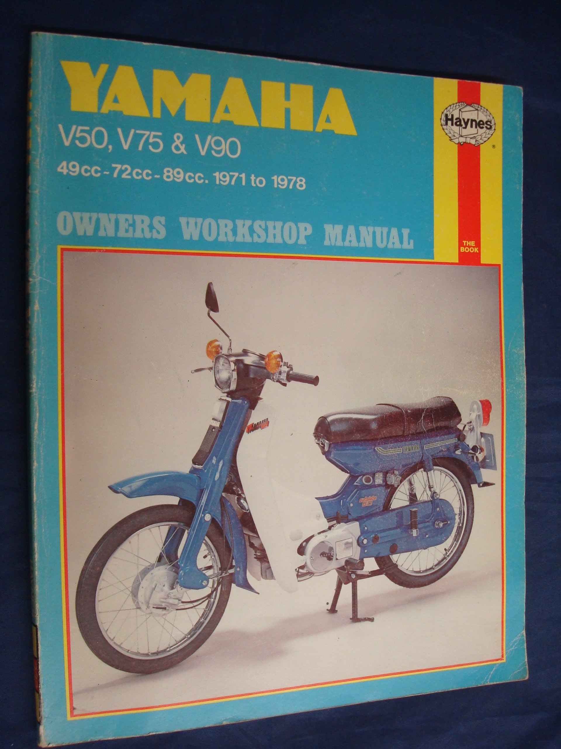 Yamaha v50 v75 and v90 owners workshop manual mervyn bleach yamaha v50 v75 and v90 owners workshop manual mervyn bleach 9780856963322 amazon books fandeluxe