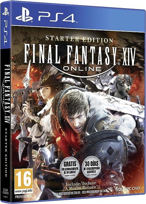 Final Fantasy XIV Starter Pack: Amazon.es: Videojuegos
