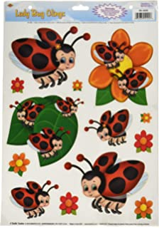 Amazoncom Nature Window Clings Butterflies Birds Flowers Fish - Window decals amazon