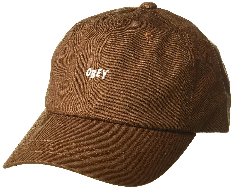 d93db8610c7 Amazon.com  Obey Men s Jumble BAR III 6 Panel HAT