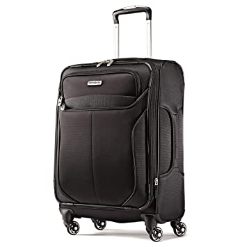 9cae776e86a Amazon.com | Samsonite Liftwo Spinner 21 Luggage, Black, One Size |  Suitcases