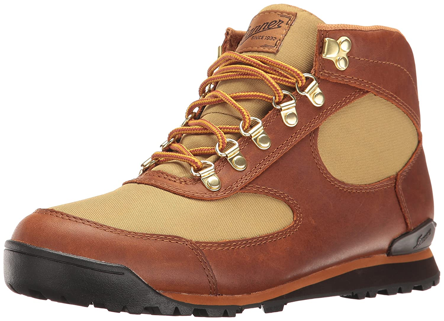 Danner Women's Jag Brown/Khaki Hiking Boot B01I331YJQ 8 M US|Brown/Khaki