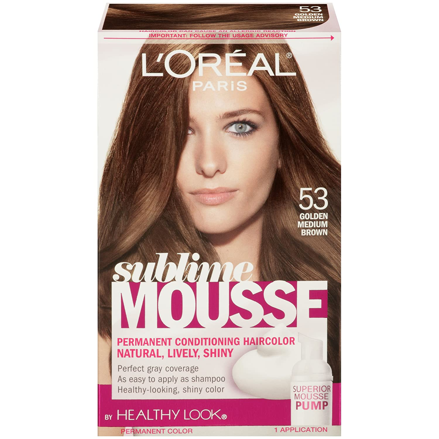 Amazon Loreal Paris Sublime Mousse By Healthy Look Hair Color