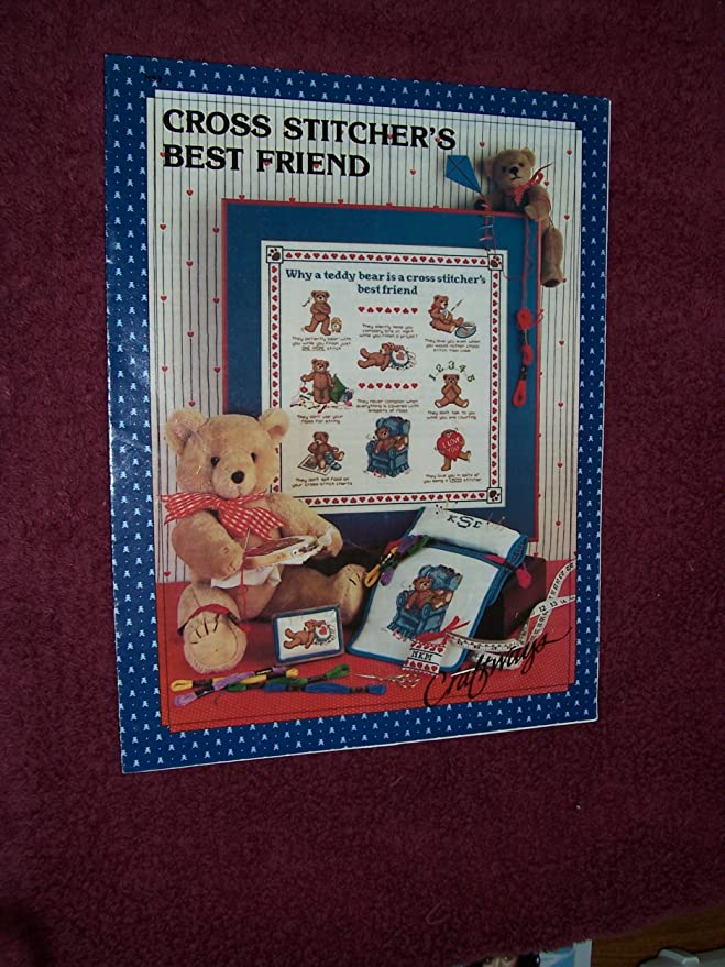 BEST FRIENDS COUNTED CROSS STITCH CHART