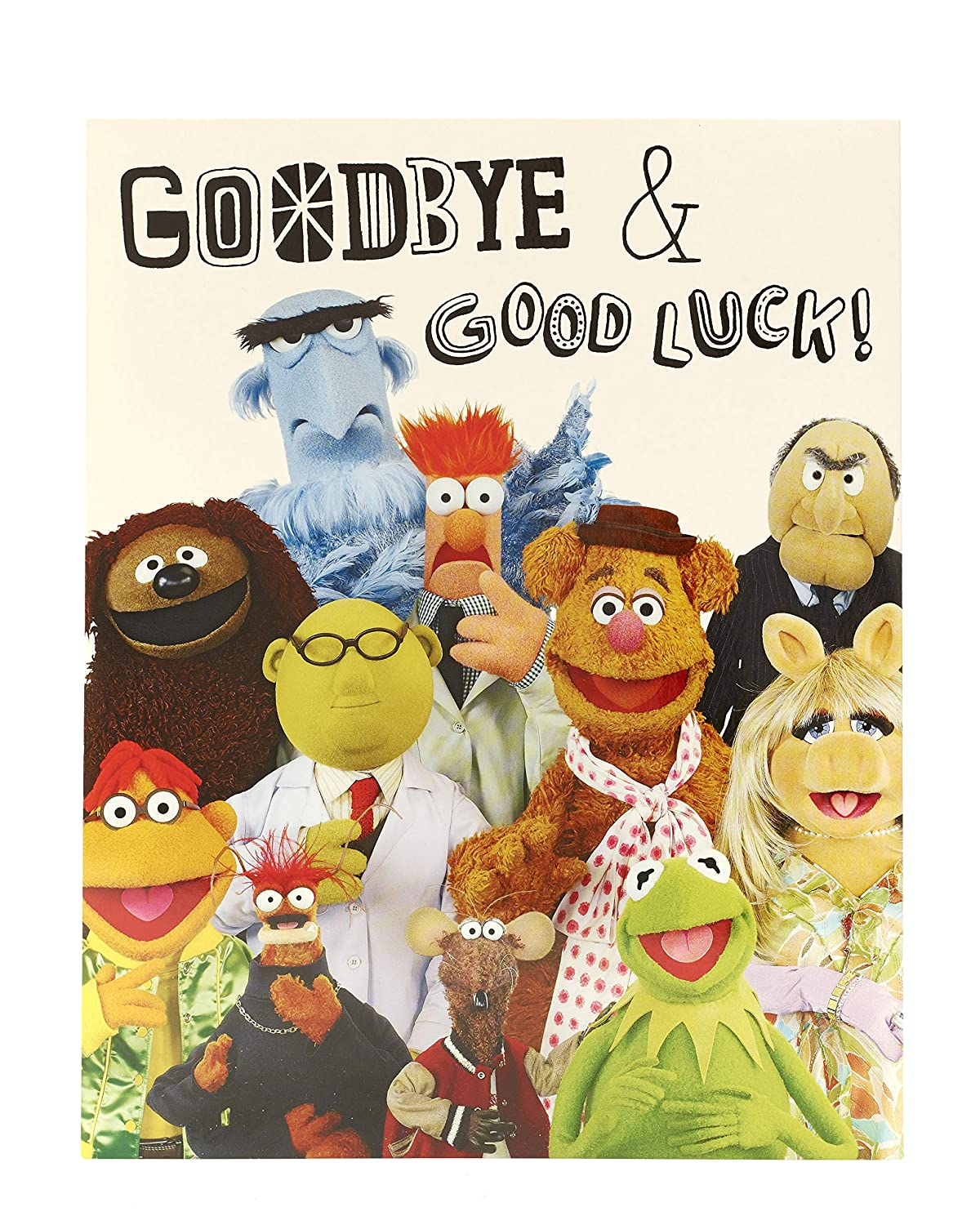 Home, Furniture & DIY The Muppets Sorry You're Leaving Card Disney Muppets Greeting Cards