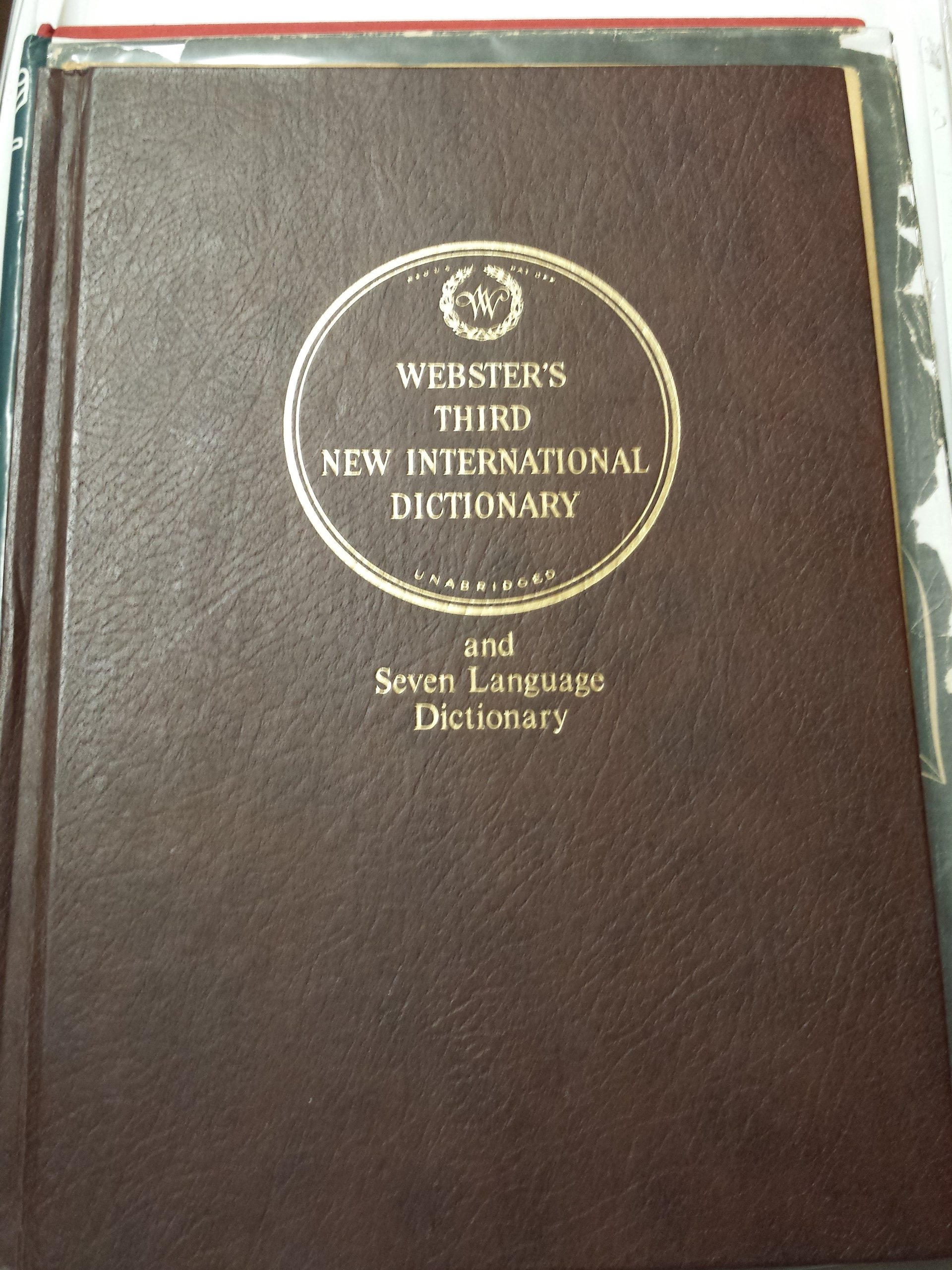 Webster's Third New International Dictionary of the English Language  Unabridged (With Seven Language Dictionary) A to G, Volume 1: A Merriam- Webster: ...