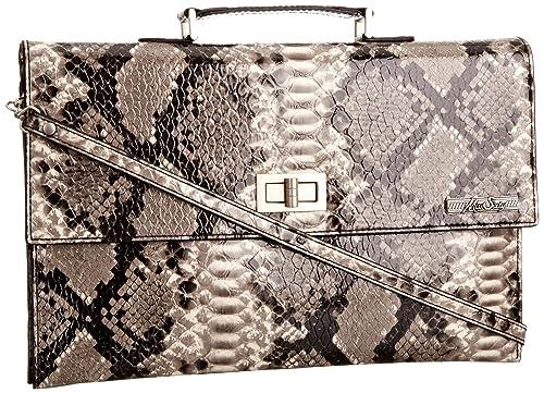 f3a9d0c4c Miss Sixty Women's Elvea Handbags With Straps Gray B9K100 One Size:  Amazon.co.uk: Shoes & Bags