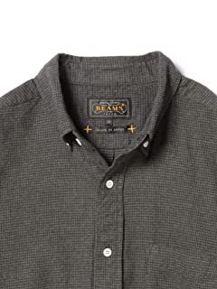 Houndstooth Buttondown Shirt 11-11-0714-139: Grey