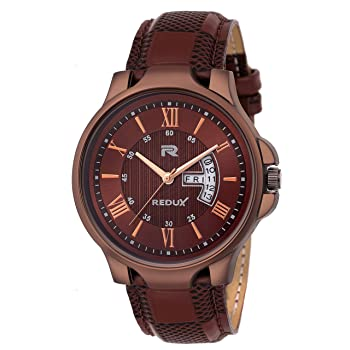 Redux Analogue Brown Dial Watch
