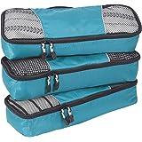 eBags Classic Slim 3pc Packing Cubes (Aquamarine)