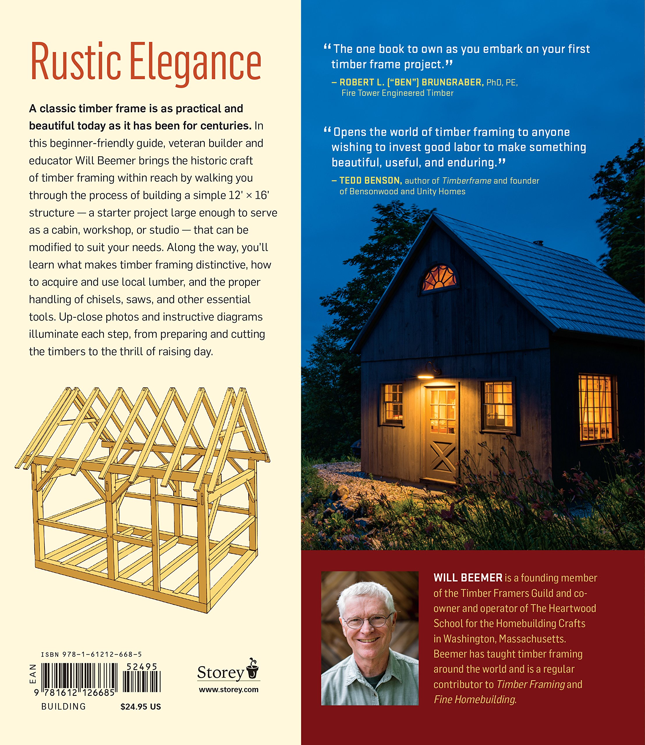 Learn to Timber Frame: Craftsmanship, Simplicity, Timeless Beauty ...