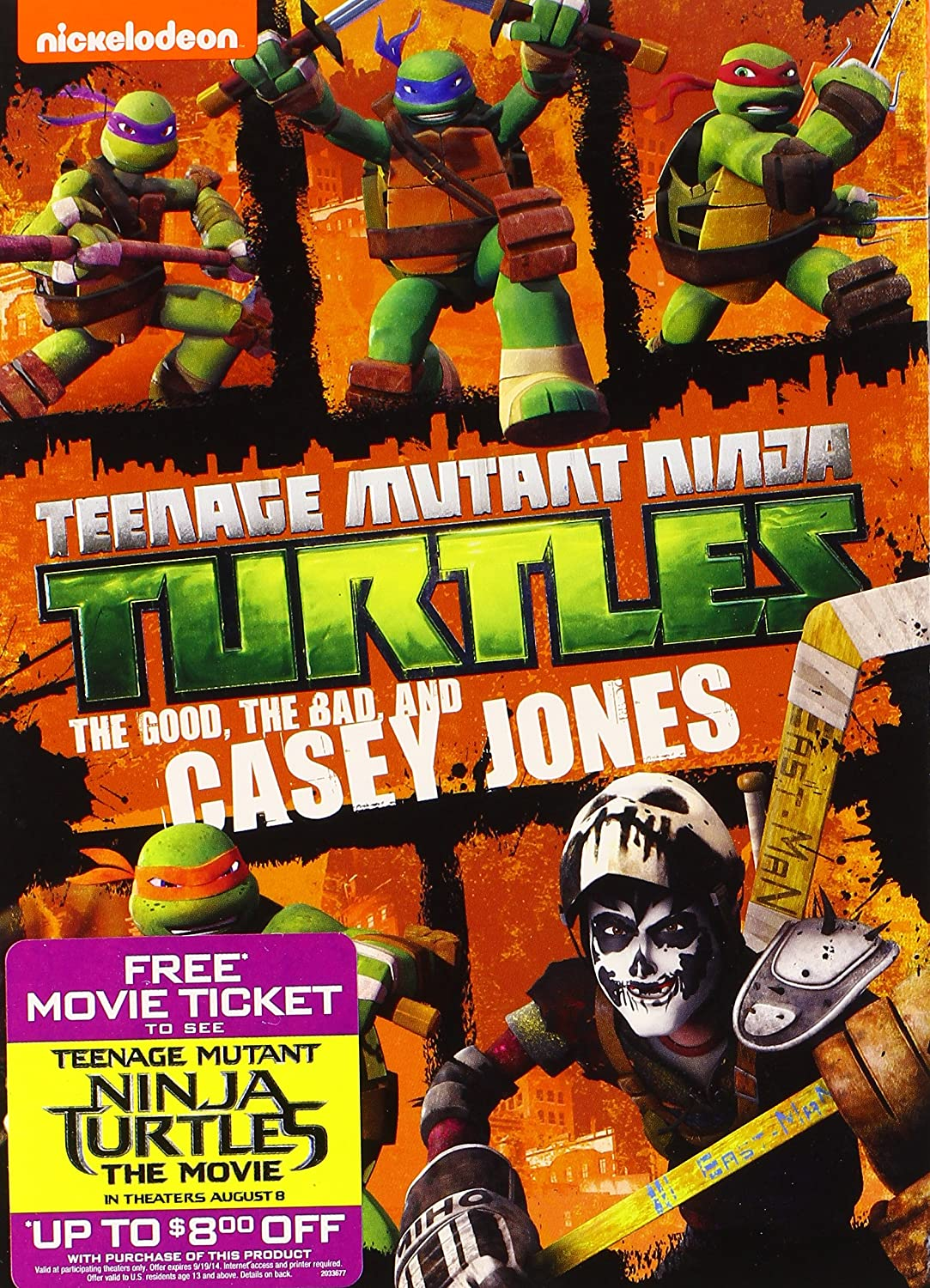 Teenage Mutant Ninja Turtles: Good Bad & Casey Edizione ...