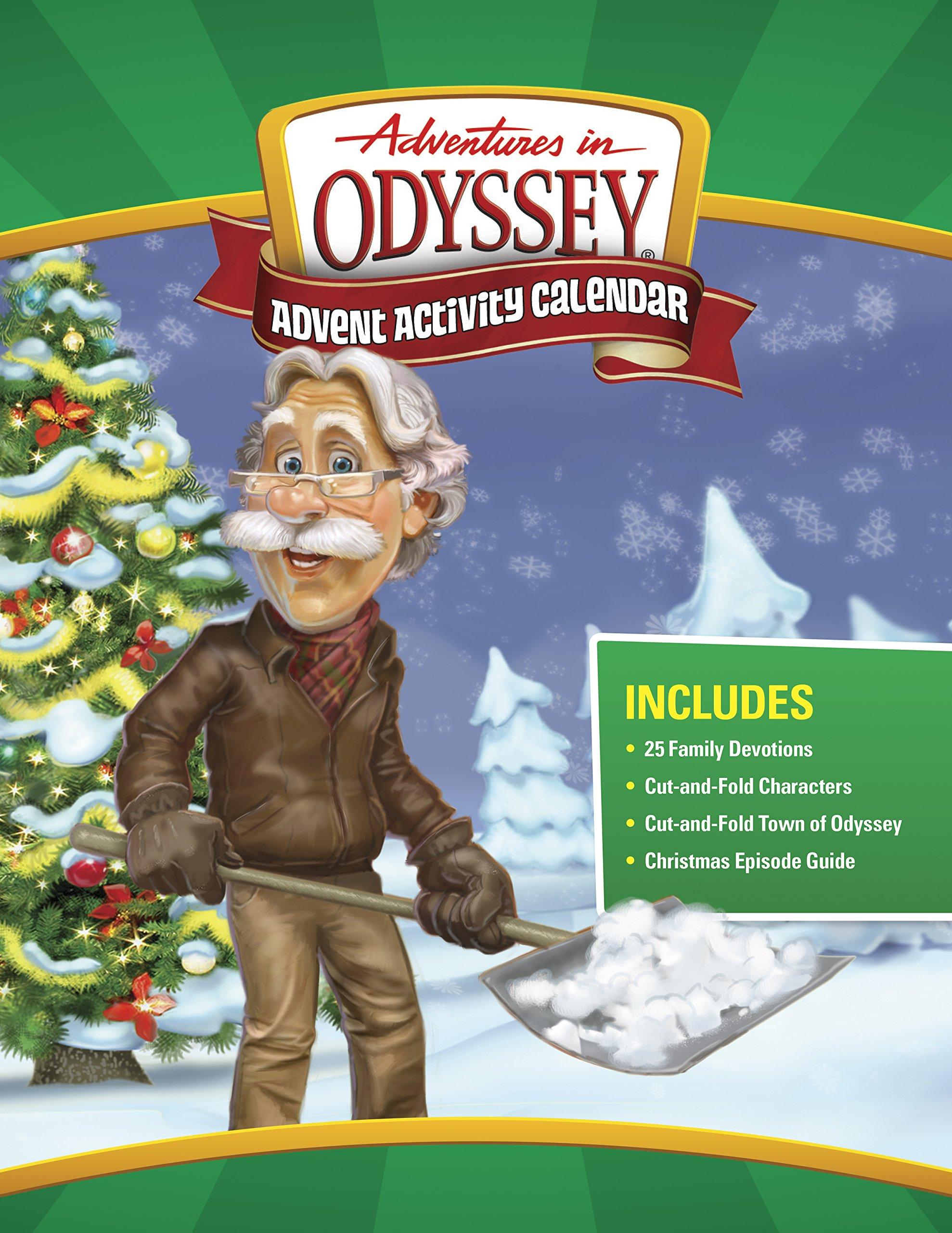 Adventures in Odyssey Advent Activity Calendar: Countdown to Christmas ( Adventures in Odyssey Misc): Focus on the Family: 9781589978232:  Amazon.com: Books