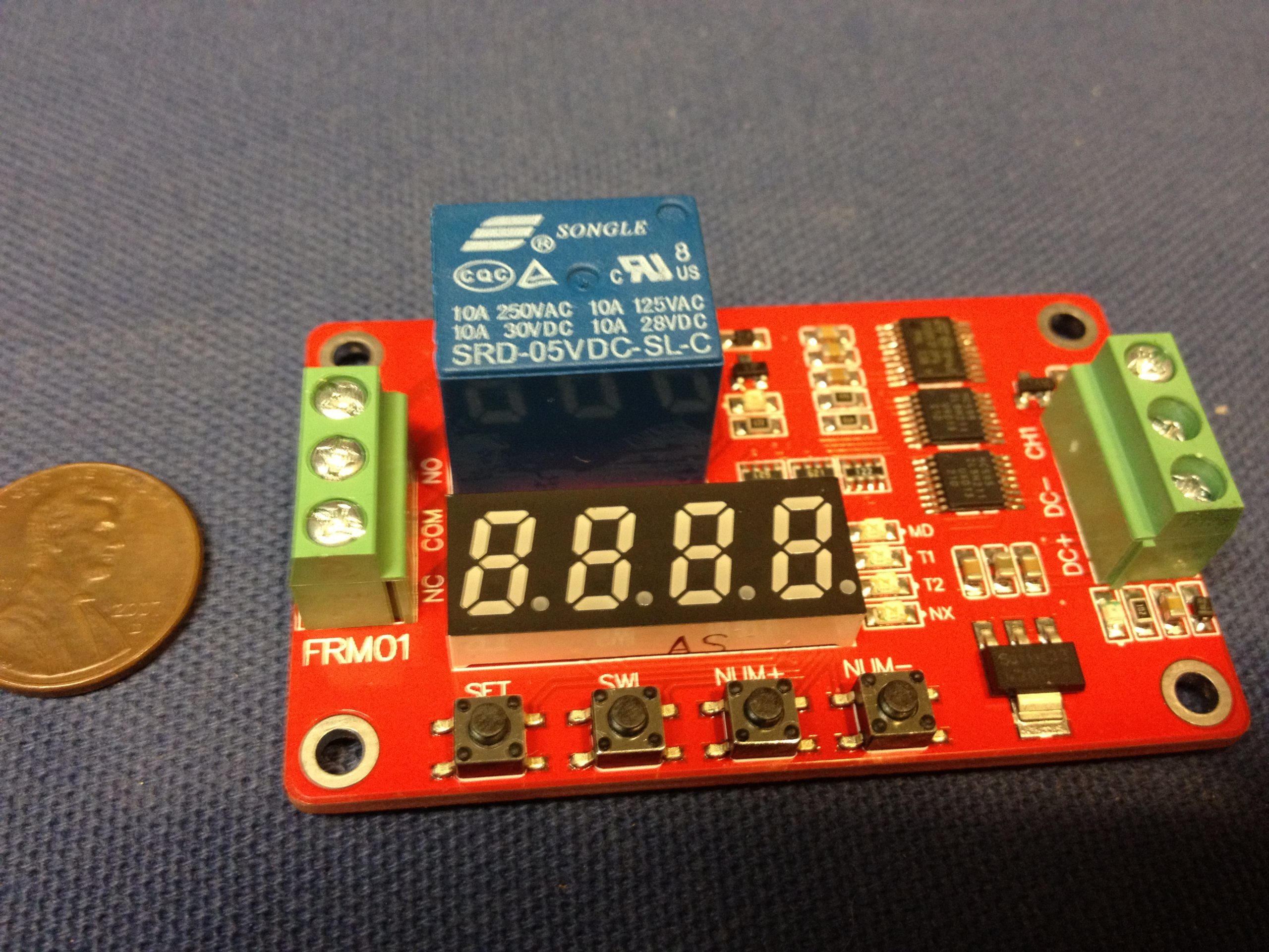 12v Multifunction Self-lock Relay Cycle Timer Module Home Automation Delay C4