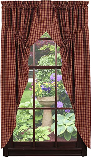 Cambridge Wine Prairie Curtains