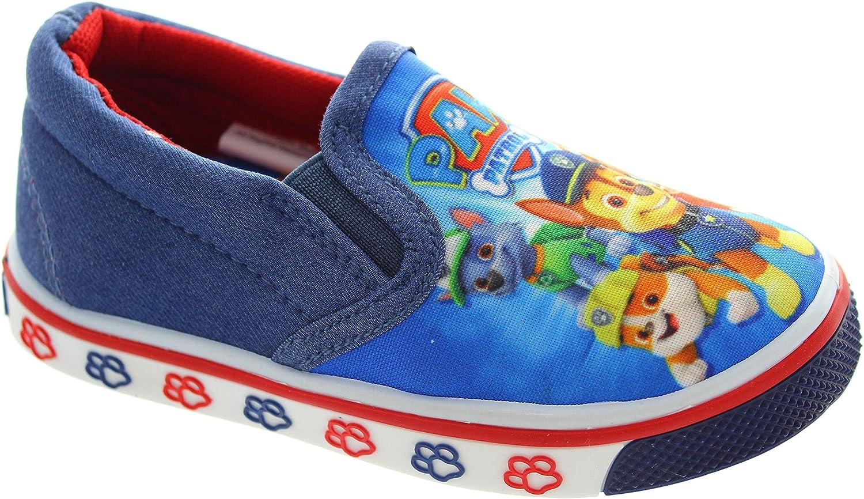 0e7fb75d6964 Paw Patrol Lancaster Blue Mesh Casual Canvas Shoes UK Sizes 5-10