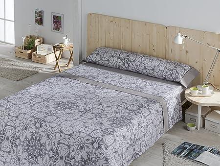ESTELA Coral Juego de sábanas Estampadas para Cama de 150 cm, 3 ...