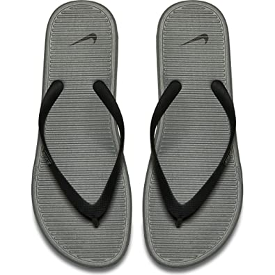 8f8cc84330e13b Nike Women s Solarsoft Thong II Black Grey 488160-090 (SIZE  13)  Amazon.ca   Shoes   Handbags