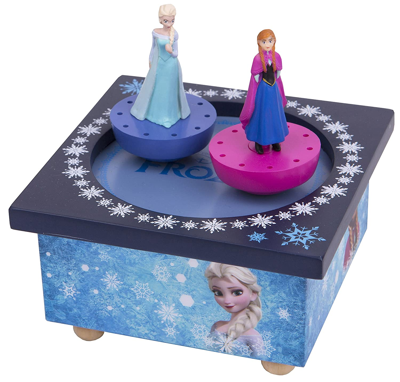 Trousselier Musical Dancing Elsa and Ana Frozen Figure TROUS95430